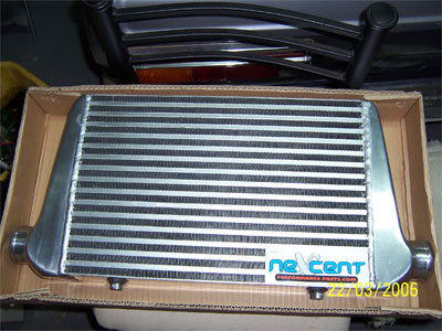 My new intercooler.
